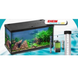 Kit de acuario Eheim AQUASTAR LED 54 (negro)